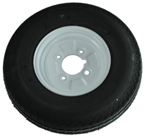 Maypole Trailer Wheel and Tyre - 400 mm x 8 Inch MP215 - 215TrailerWheelAndTyre.png