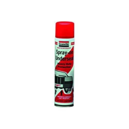 GRANVILLE SPRAY-ON UNDERSEAL 600ml Black Bitumen GRV0770 - GRV0770.jpg