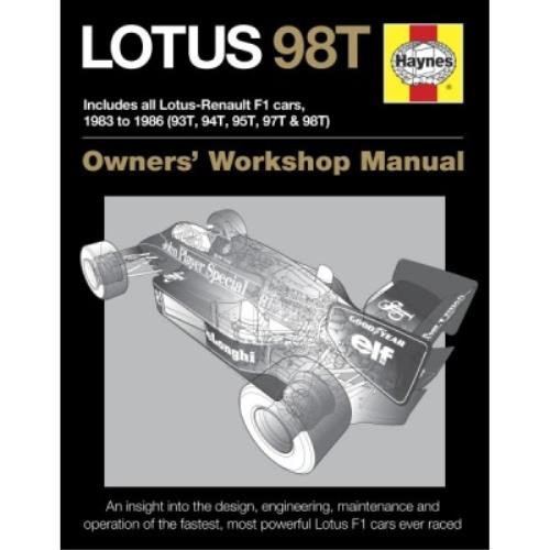 Haynes LOTUS 98T (JPS F1 CAR) MANUAL HAYH5777 - H5777 LOTUS 98T JPS.jpg