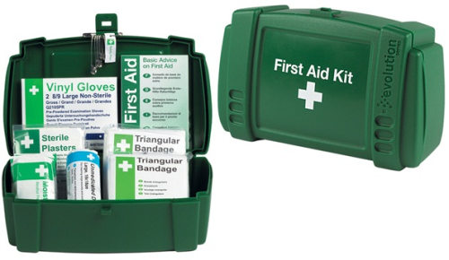 Safety First Aid - Travel First Aid Kit in Plastic Case - 1 Person K308 - K308.png