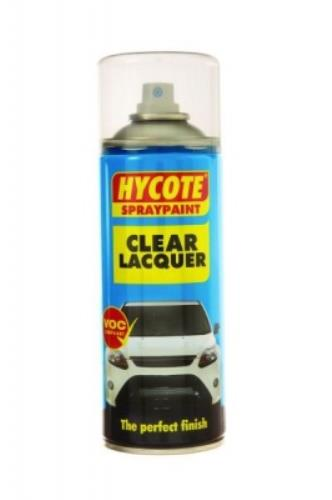 Hycote SPRAY PAINT CLEAR LACQUER 400ml HYCXUK0232 - XUK0232.jpg